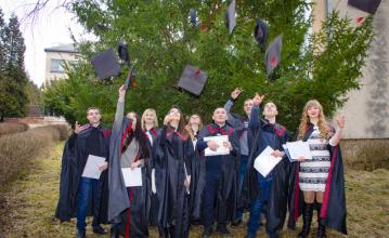 Вітаємо магістрів-випускників!